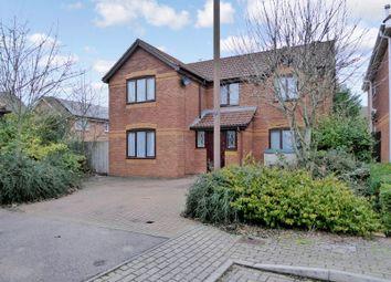 Thumbnail 3 bed detached house for sale in Laker Court, Oldbrook, Milton Keynes