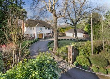 Thumbnail 4 bedroom detached house for sale in Oakwood Road, Wentworth, Virginia Water