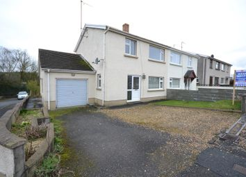 Thumbnail 3 bed semi-detached house for sale in Bro-Nantlais, Gwyddgrug, Pencader