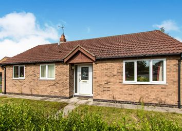 Thumbnail 2 bedroom detached bungalow for sale in Plover Road, Essendine, Stamford