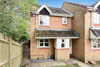 Thumbnail 2 bed end terrace house for sale in Bassett Road, Maidenbower, Crawley, West Sussex