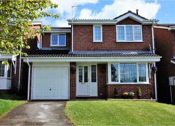 Thumbnail 4 bedroom detached house for sale in Regis Close, Derby
