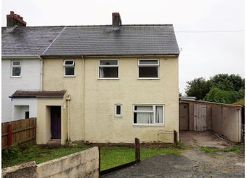 Thumbnail 4 bed semi-detached house for sale in Ellesmere Avenue, Milford Haven