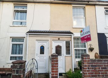 Thumbnail 2 bed terraced house for sale in Bedford Street, Gosport