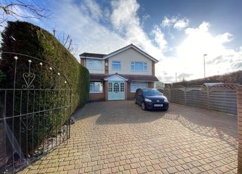 Thumbnail 4 bed detached house for sale in Caughall Road, Upton, Chester