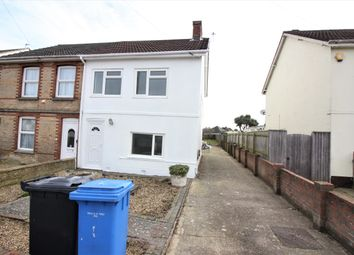 Thumbnail 3 bed semi-detached house to rent in Ebor Road, Poole