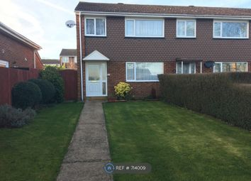 Thumbnail 3 bedroom end terrace house to rent in Sutherland Grove, Bletchley