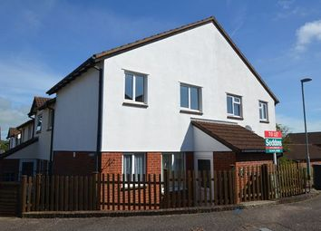Thumbnail 1 bed end terrace house to rent in Steel Close, Honiton
