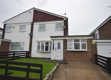 Thumbnail 4 bedroom semi-detached house for sale in Grindleford Court, South Shields