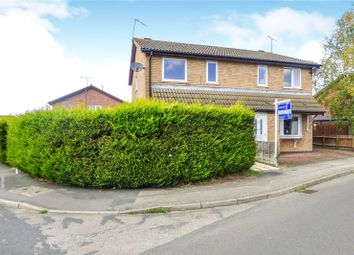 Thumbnail 3 bed semi-detached house for sale in Devitt Way, Broughton Astley, Leicester, Leicestershire
