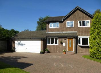 Thumbnail 4 bedroom detached house for sale in The Lodge, Hadfield, High Peak