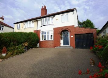 Thumbnail 4 bed semi-detached house for sale in Dane Bank Drive, Disley, Stockport, Cheshire
