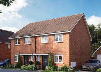 Thumbnail 3 bed semi-detached house for sale in Wickfields, Barn Road, Longwick, Princes Risborough