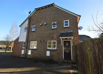 Thumbnail 1 bed terraced house to rent in The Bulrushes, Ashford, Kent