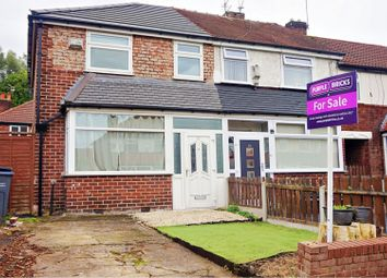 Thumbnail 3 bedroom semi-detached house for sale in Bromfield Avenue, Manchester