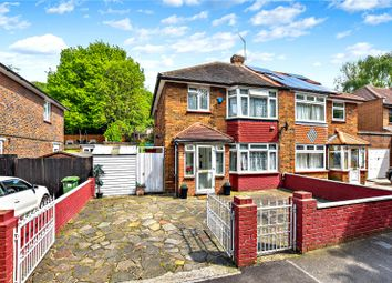 Thumbnail 3 bedroom semi-detached house for sale in Rochester Drive, Bexley, Kent