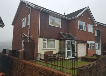 Thumbnail 4 bed semi-detached house to rent in Yewberry Lane, Newport