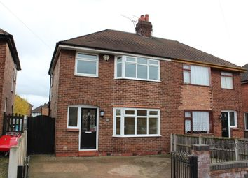 Thumbnail 3 bed semi-detached house to rent in Newfield Drive, Crewe, Cheshire