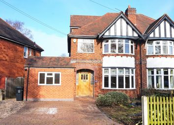 Thumbnail 5 bedroom semi-detached house for sale in Wyngate Drive, Leicester