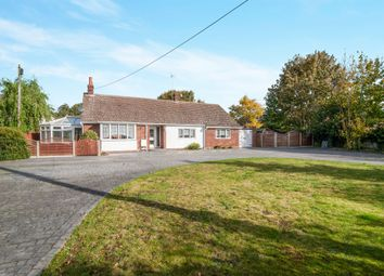 Thumbnail 3 bed detached bungalow for sale in Combs Lane, Stowmarket