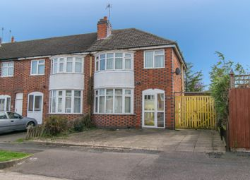 Thumbnail 3 bed semi-detached house for sale in Lymington Road, Leicester