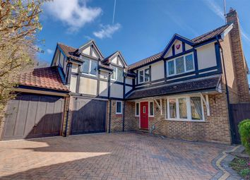 Thumbnail 5 bedroom detached house for sale in Yearling Close, Great Amwell, Hertfordshire