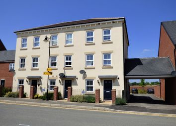 Thumbnail 4 bed terraced house for sale in Saxon Way, Biddenham