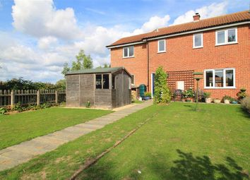 Thumbnail 4 bed end terrace house for sale in The Glebe, Lawshall, Bury St. Edmunds