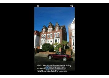 Thumbnail 1 bed flat to rent in Salisbury Road, Portsmouth