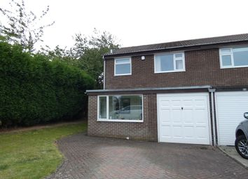Thumbnail 3 bed semi-detached house for sale in Dymock Court, Tudor Grange, Newcastle Upon Tyne