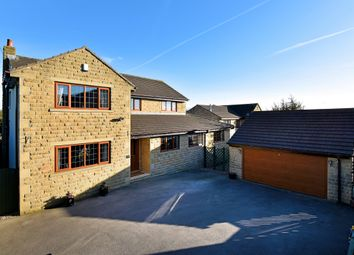 Thumbnail 5 bed detached house for sale in Leeds Road, Mirfield