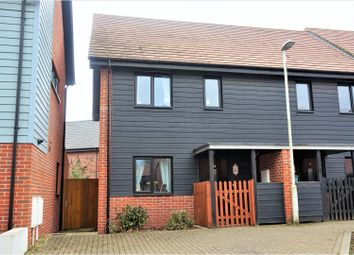 Thumbnail 2 bed terraced house for sale in Teddington Drive, West Malling