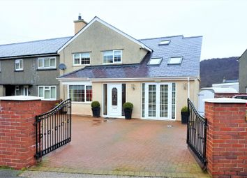 Thumbnail 4 bed end terrace house for sale in Maes Padarn, Llanberis