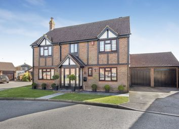 Thumbnail 4 bed detached house for sale in Todd Close, Holmer Green, High Wycombe