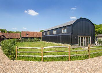 Thumbnail 4 bed barn conversion for sale in Tigbourne Farm, Wormley, Godalming, Surrey