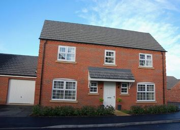 Thumbnail 4 bed detached house for sale in Carr Road, Moulton, Northampton