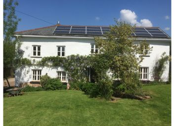 Thumbnail 5 bed farmhouse for sale in Cheriton Fitzpaine, Crediton