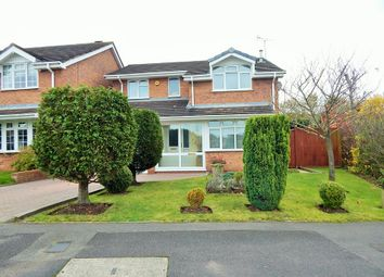 Thumbnail 4 bed detached house for sale in Peterborough Drive, Heath Hayes