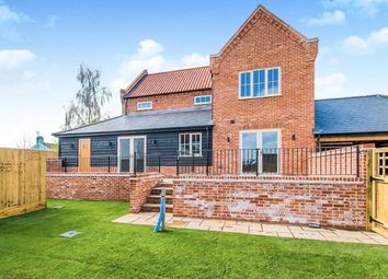 Thumbnail 3 bed detached house for sale in School Road, West Walton, Wisbech