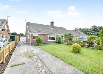 Thumbnail 3 bed semi-detached bungalow for sale in Cherry Wood Crescent, York, North Yorkshire