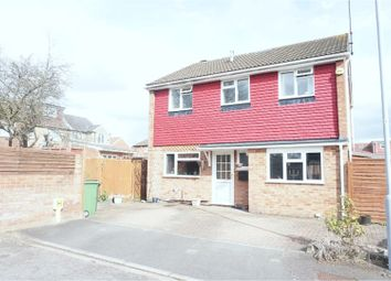 Thumbnail 3 bed detached house for sale in St. Bernards Close, Luton