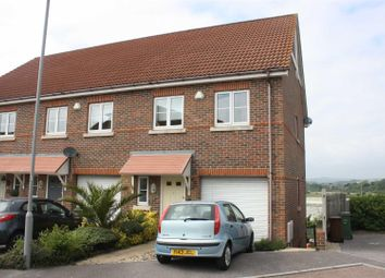Thumbnail 4 bed town house for sale in Doulton Close, Weymouth