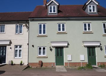 Thumbnail 3 bed terraced house for sale in Canberra Road, Carbrooke, Thetford