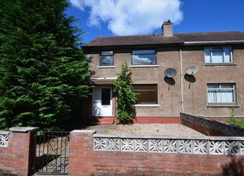 Thumbnail 3 bed semi-detached house for sale in Bog Road, Banknock, Bonnybridge