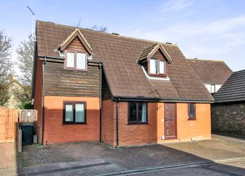 Thumbnail 3 bed detached house for sale in Canonsfield, Werrington, Peterborough