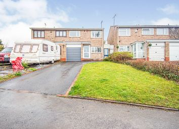 Thumbnail 3 bed semi-detached house for sale in Peterbrook Road, Shirley, Solihull