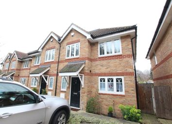 Thumbnail 4 bed semi-detached house to rent in Loncin Mead Avenue, New Haw, Addlestone