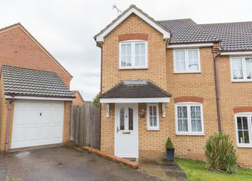 Thumbnail 3 bed semi-detached house to rent in Ebbw Vale Road, Irthlingborough, Wellingborough