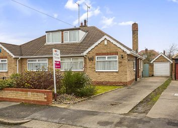 Thumbnail 2 bed semi-detached bungalow for sale in Lynwood Avenue, Anlaby, Hull