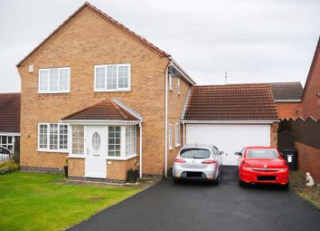 Thumbnail 3 bed detached house for sale in Carisbrooke, Bedlington